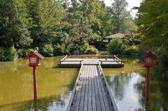 Monaco di Baviera - giardino giapponese Immagini Stock Libere da Diritti