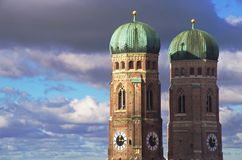 Monaco di Baviera Marienplatz Fotografie Stock Libere da Diritti