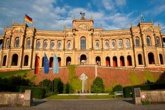 Monaco di Baviera Maximilianeum Immagini Stock Libere da Diritti
