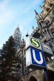 Monaco di Baviera Neues Rathaus Fotografia Stock Libera da Diritti