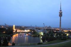 Monaco di Baviera - parco olimpico Immagine Stock Libera da Diritti