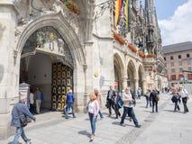 Monaco di Baviera Townhall Fotografia Stock Libera da Diritti