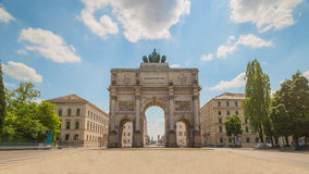 Monaco di Baviera Victory Gate Fotografia Stock