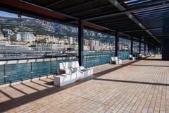 Monaco-Fürstentum von der Esplanade Rainier III Lizenzfreie Stockfotos