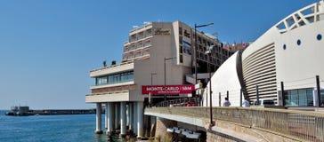 Monaco - Fairmont Monte Carlo Hotel Stock Afbeeldingen