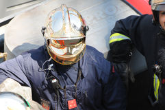 Monaco Firefighter Stock Image