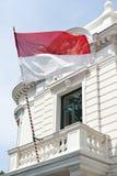 Monaco Flag Stock Photo