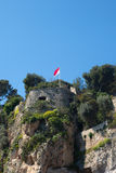 Monaco flag. Royalty Free Stock Photos