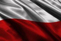 Monaco flag ,Monaco national flag 3D illustration symbol Royalty Free Stock Photography