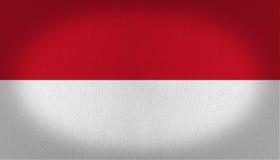 Monaco flagga Fotografering för Bildbyråer