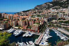 Monaco Fontvieille Royalty Free Stock Photography