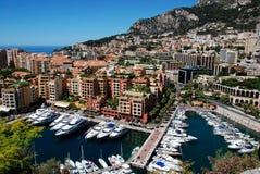 Monaco Fontvieille fotografia de stock royalty free
