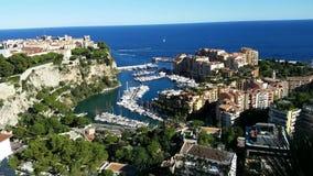 Monaco Fontvieille czasu upływ zbiory wideo