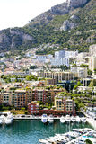 Monaco - Fontvieille harbour Stock Images