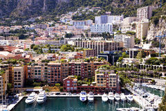 Monaco - Fontvieille harbour Royalty Free Stock Photos