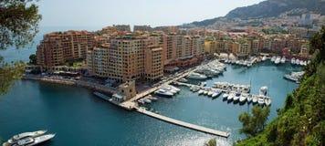 Monaco - Fontvieille harbour Royalty Free Stock Photos