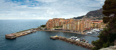 Monaco - Fontvieille harbour Royalty Free Stock Photography