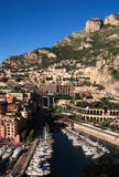 Monaco Fontvieille Marina Royalty Free Stock Photography