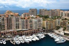 MONACO,  Fontvieille, new district of Monaco. Stock Images