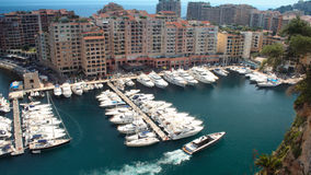 Monaco, France. Luxury yachts docked in Monaco, South of France Royalty Free Stock Images