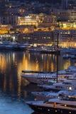 Monaco - franska Riviera Arkivfoto