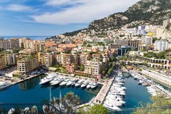 Monaco, French Riviera Stock Photo