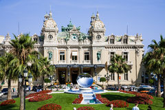 Monaco Grand Casino Stock Images