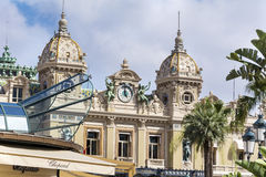 Monaco Grand Casino Royalty Free Stock Photos