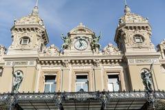 Monaco Grand Casino Stock Photography