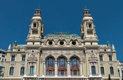 Monaco - Grand Casino Stock Photos