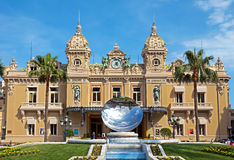 Monaco - Grand Casino Stock Photos