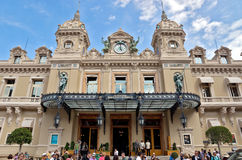 Monaco - Grand Casino Stock Photography