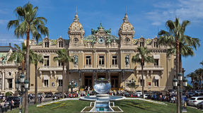 Monaco - Grand Casino Stock Photography