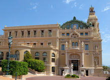 Monaco - Grand Casino Stock Image