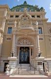 Monaco - Grand Casino Stock Image