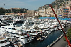 Monaco during the Grand Prix 2009 Stock Photo