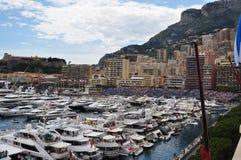 Monaco during the Grand Prix 2010 Stock Photos