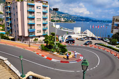 Monaco grand prix circuit Royalty Free Stock Photo