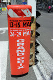 Monaco Grand Prix Historique Signboard Royalty Free Stock Image