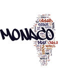 Monaco Grand Prix May Text Background  Word Cloud Concept Royalty Free Stock Photo