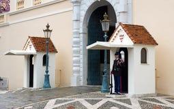 Monaco - Guardsman Stock Photography