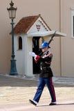 Monaco - Guardsman Royalty Free Stock Images