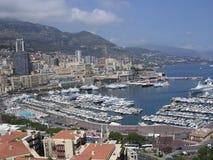 Monaco-Hafen. Lizenzfreie Stockfotos