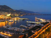 Monaco-Hafen Lizenzfreie Stockfotos
