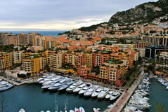 Monaco hamn Royaltyfria Bilder