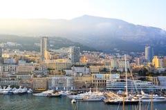 Monaco hamn Royaltyfri Bild