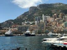 Monaco hamn Royaltyfri Foto