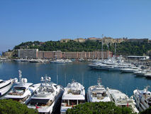 Monaco harbor Royalty Free Stock Photo