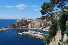Monaco harbor Royalty Free Stock Photography