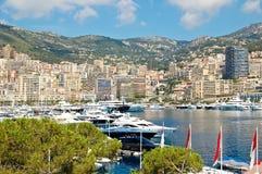 Monaco harbor Stock Image